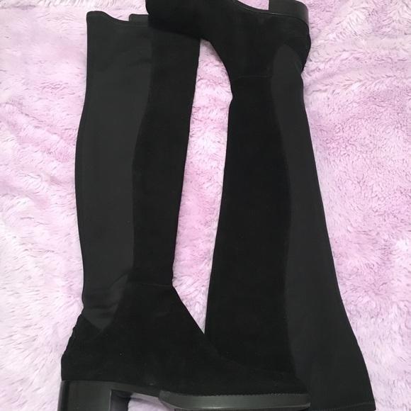 c0189e9f0a1 Tory Burch Caitlin Stretch OTK Boot. M 5baaaaaa4ab6334825c2f3ce